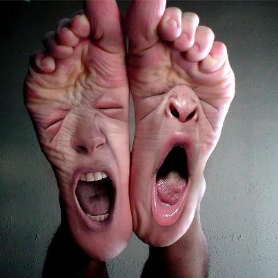 screaming+feet